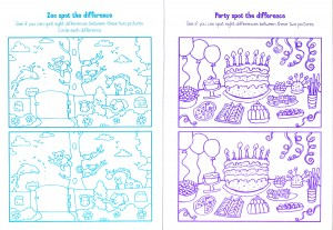 Tesco activity book Inside